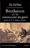 Livre : Beethoven  et la construction d'un génie, par Tia DeNora...