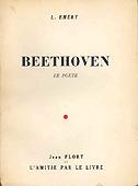 Livre : Beethoven le poête par Léon Emery...