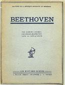Livre : Beethoven par Edmond Vermeil...