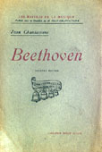 Livre : Beethoven, par Jean Chantavoine..