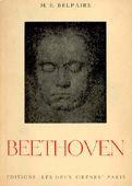 Livre : Beethoven, par M. E. Belpaire...