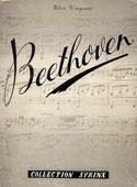 Livre : Ludwig van Beethoven par Richard Petzoldt...