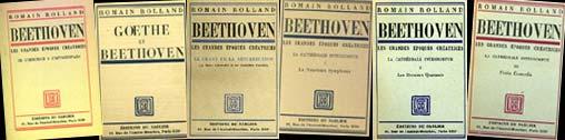 Livre : Beethoven - la neuvième symphonie, par Romain Rolland...