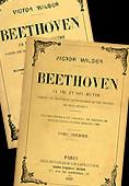 Livre :  Beethoven , par Victor Wilder...