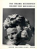 Livre : Das Drama Beethoven erlebt von Bourdelle...