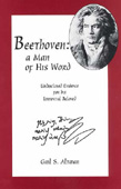 Livre : Beethoven: a man of his word, par Gail S. Altman...