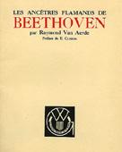 Livre : Les ancêtres flamands de Beethoven, par Raymond van Aerde...