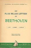 Livre : Les plus belles lettres de Ludwig van Beethoven...