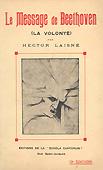 Livre :  Le message de Beethoven, par Hector Laisné...
