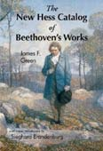 Livre : Beethoven - Catalogue des oeuvres Hess