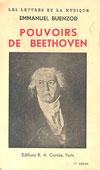 Livre : Pouvoirs de Beethoven, par Emmanuel Buenzod...