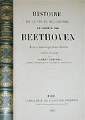 Livre : Beethoven as I knew him, par Anton Schindler...