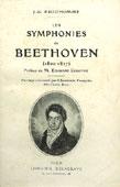 Livre : Les symphonies de Beethoven, par J-G Prod'homme...