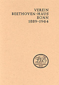 Livre : Verein Beethoven-Haus Bonn 1889-1964...