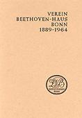 Livre : Verein Beethoven-Haus Bonn 1889-1964...