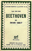 Livre : La vie de Beethoven par Edouard HERRIOT...