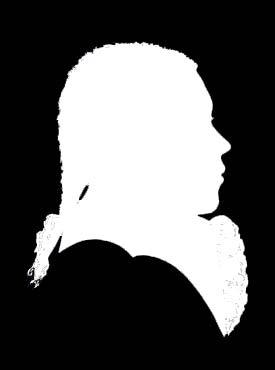 Silhouette de Beethoven vers 1786
