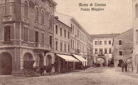 Motta di Livenza : une carte postale ancienne