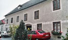 Casa en Heiligenstadt, donde Beethoven escribió su testamento.