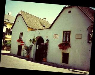 La Beethovenhaus de Heiligenstadt...