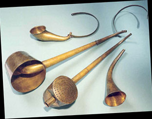 Beethoven's earing devices...