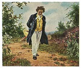 Cartes Eckstein nr 5 - Beethoven - Série n°5, carte n°115...
