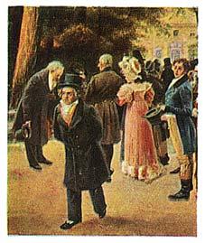 Cartes Eckstein nr 5 - Beethoven - Série n°7, carte n°120...