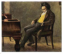 Cartes Eckstein nr 5 - Beethoven - Série n°7, carte n°125...