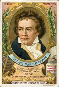 Cartes Liebig - Louis van Beethoven...