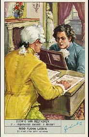 Beethoven - Carte Liebig en Italien - N°2