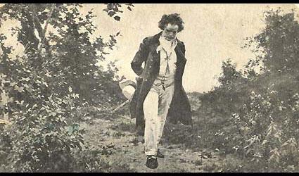Beethoven en promenade