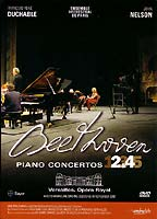 DVD Beethoven - Concertos 2 et 4