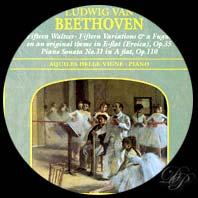 Beethoven : quinze valses