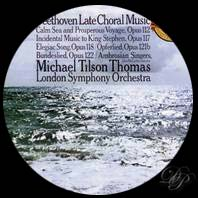 Beethoven Late Chorale Music