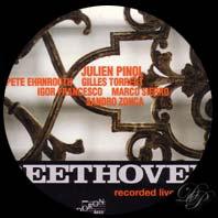 Dix oeuvres de Beethoven arrangées façon Jazz par Julien Pinol