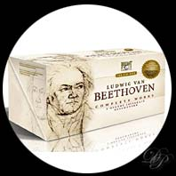 L'int&eacute;grale des oeuvres de Beethoven