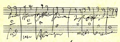Translation of Beethoven's ninth symphony in English