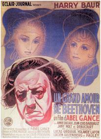 Affiche du film d'Abel Gance...