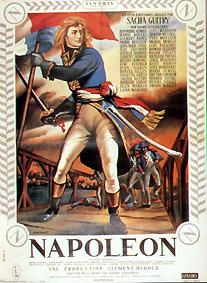 Napoléon, l'affiche...