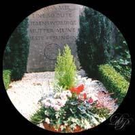 Au vieux cimetière de Bonn