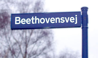 Beethovensvej