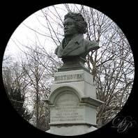 Statue Beethoven à Prospect Park...
