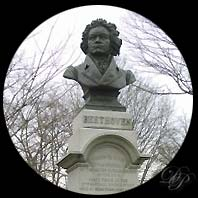 Statue Beethoven ˆ Prospect Park...