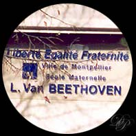 Beethoven's school at Montpellier...