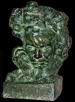 Beethoven à une main, par Antoine Bourdelle - Vers 1908...