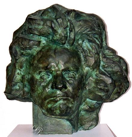 Beethoven aux longs cheveux, par Antoine Bourdelle, 1889-1890...