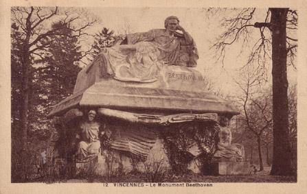 Monument Beethoven, réalisé par José de Charmoy