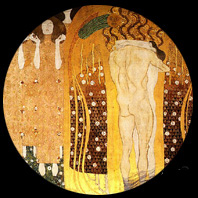 Beethoven's fries by Gustav Klimt