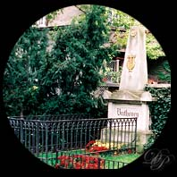 Beethoven's grave in Vienna...