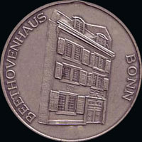 Médaille Beethoven allemande